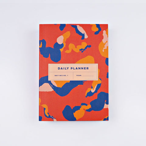 The Daily Undated Planner - Inky Mix No.1