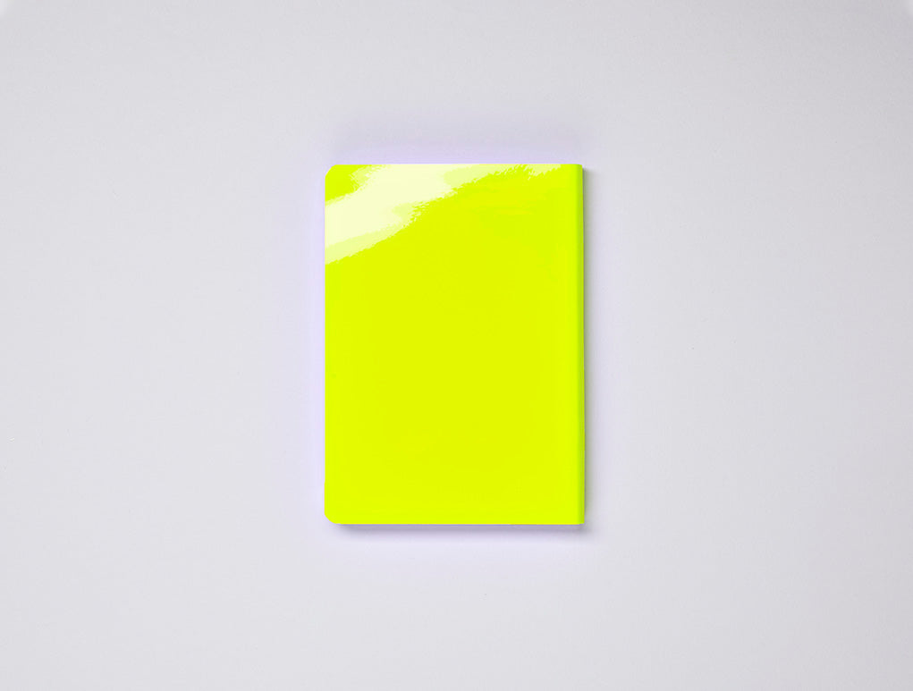 Candy Notebook - Neon Yellow