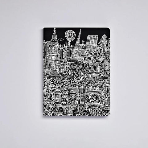 Graphic L Notebook - London