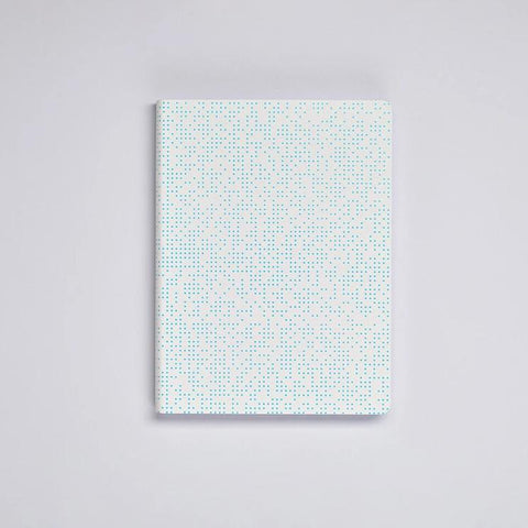 Graphic L Notebook - Glowing Pixel