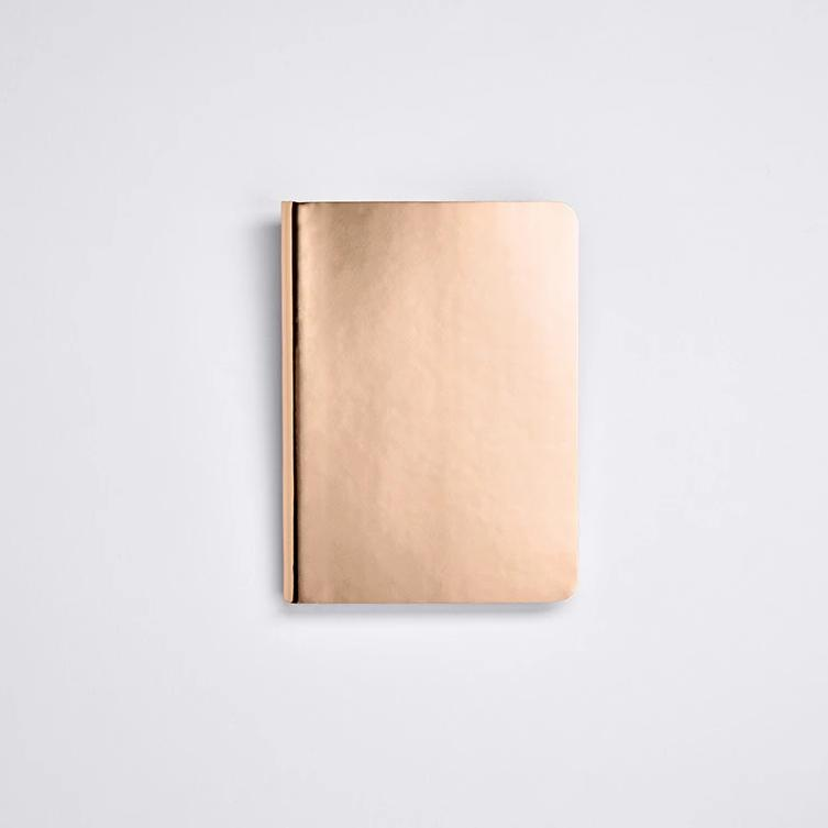 Shiny Starlet Notebook - Copper