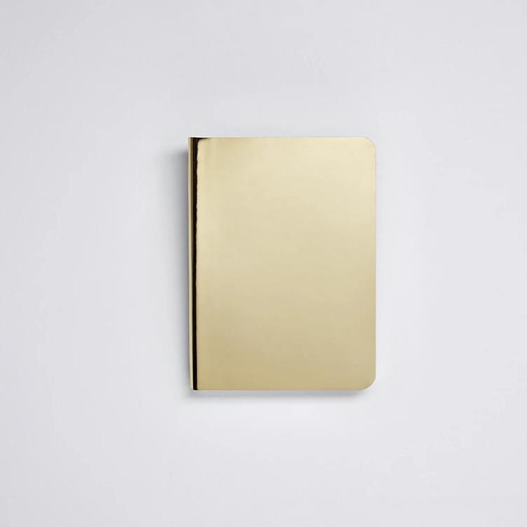 Shiny Starlet Notebook - Gold