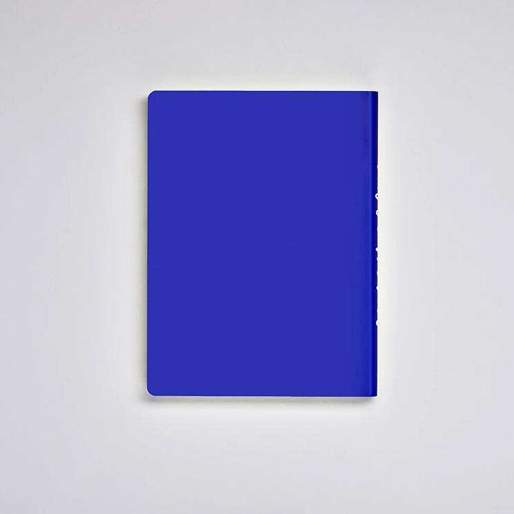 Graphic L Notebook - Into The Blue