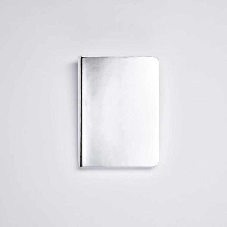 Shiny Starlet Notebook - Silver