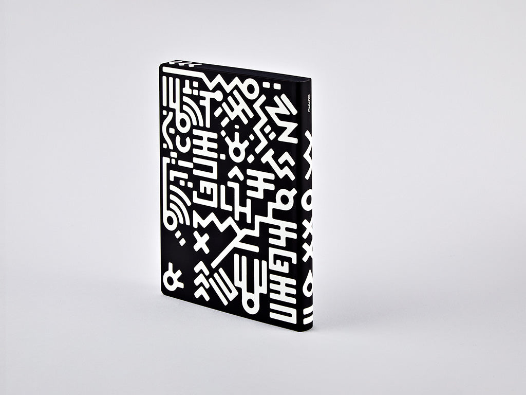 Graphic L Notebook - Metropolis