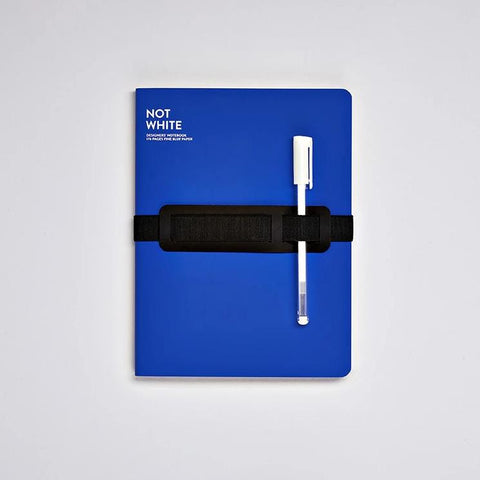Not White Notebook - Blue