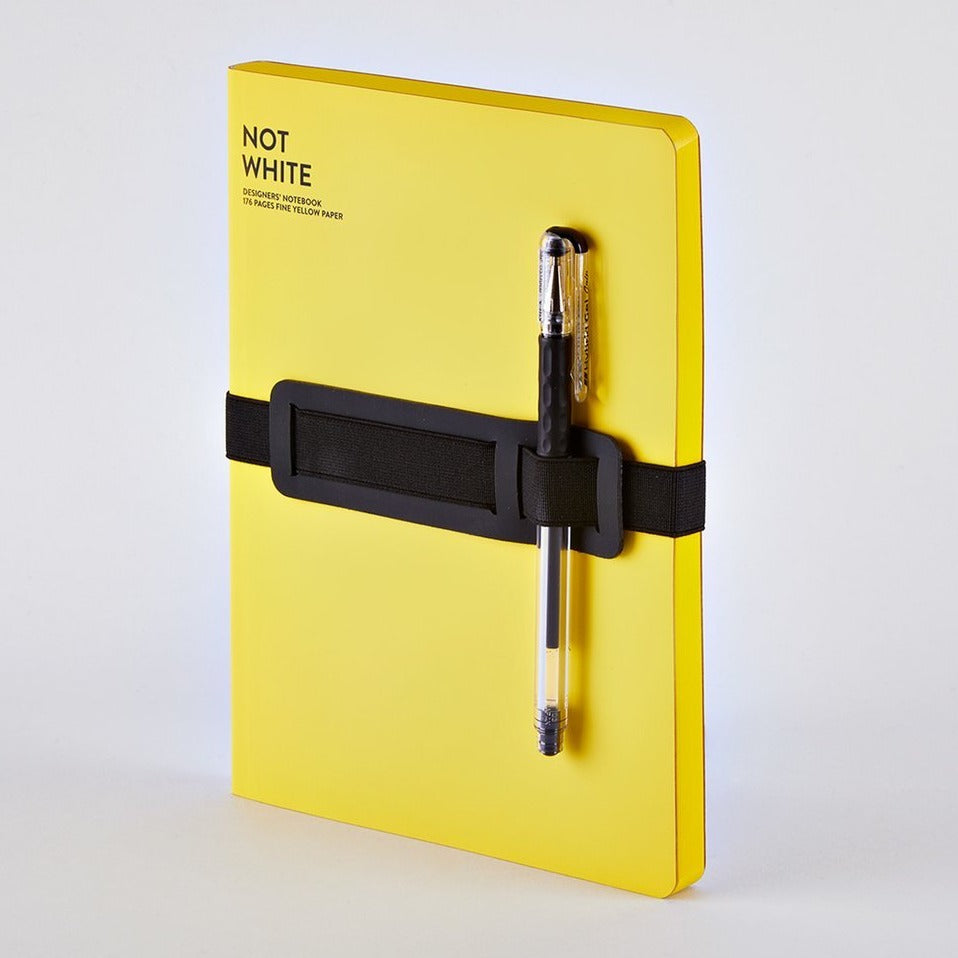 Not White Notebook - Yellow