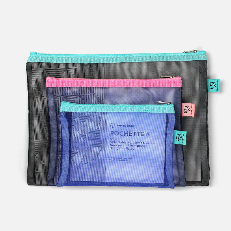 Mesh Pouch Large - Green