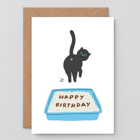 Birthday Cat Poop