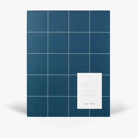 Uma Notebook - Large / Dark Blue
