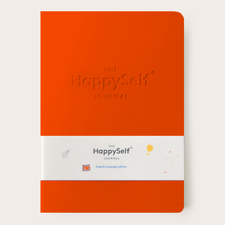 HappySelf Teen Journal - Orange