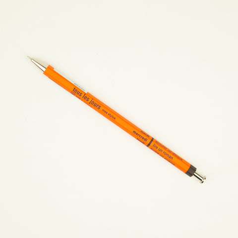 Days Ballpoint Pen - Plain Orange