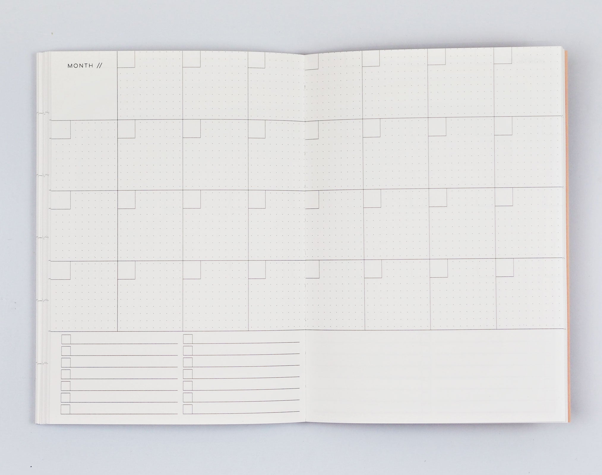 Weekly Planner A5 - Giant Brush