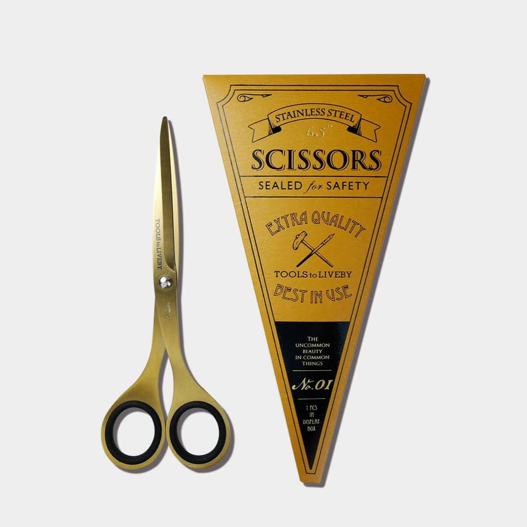 Golden Scissors 6.5""