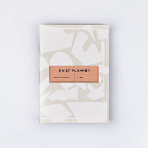 The Daily Planner Undated - Mini Cut Out