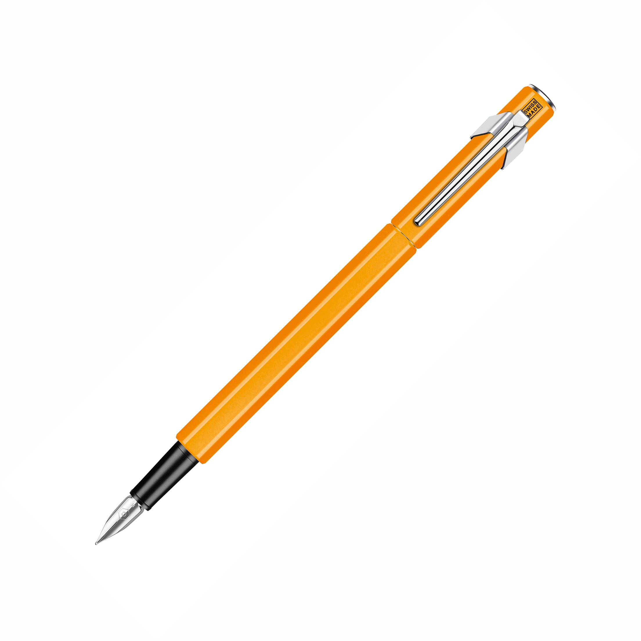 849 Fountain Pen - Medium Nib / Orange