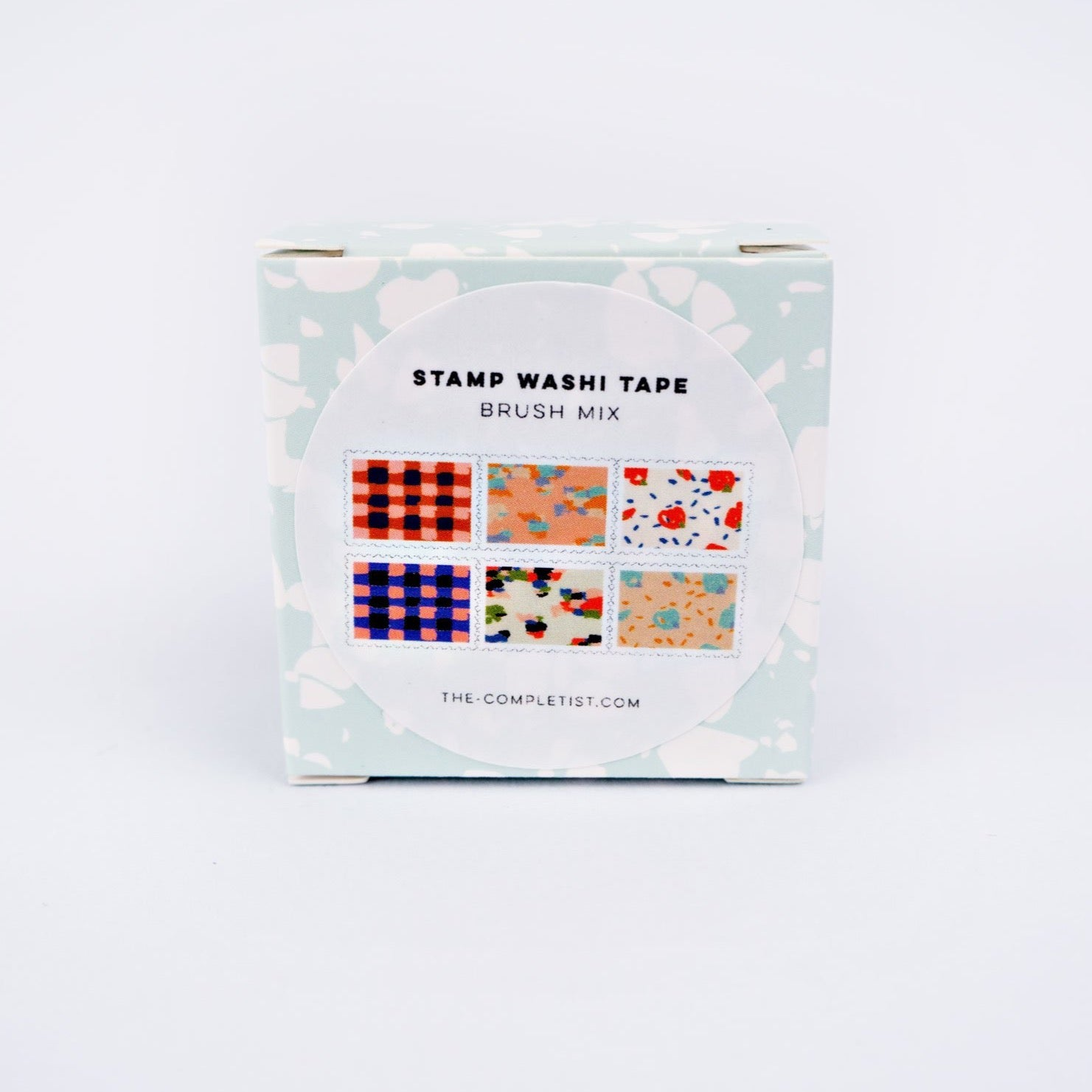 Washi Stamp - Brush Mix