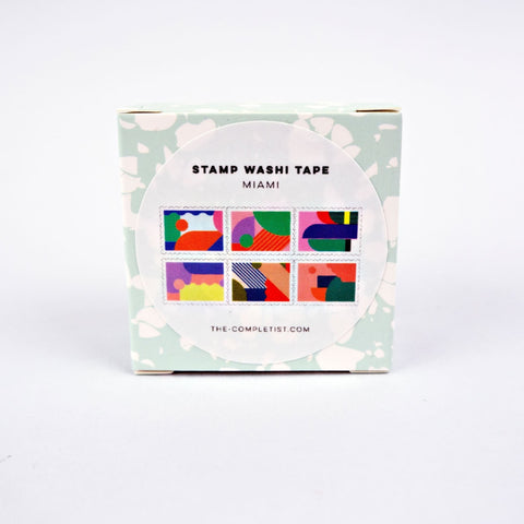 Washi Stamp - Miami