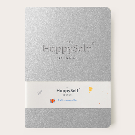 HappySelf Teen Journal - Silver