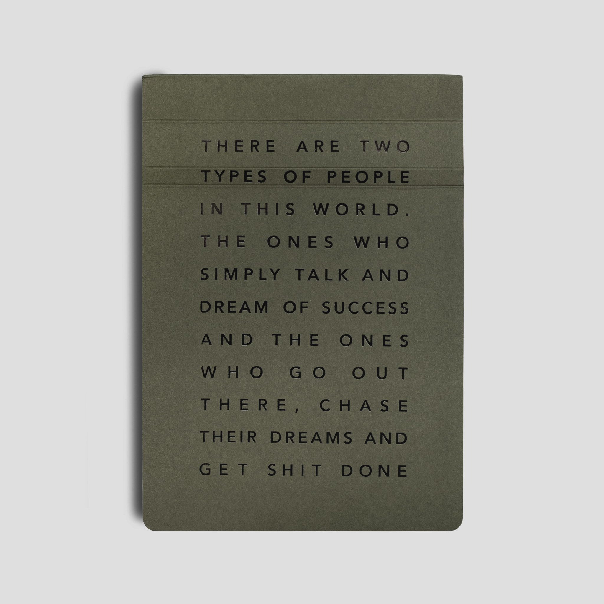 Get Shit Done Manifesto A5 Notepad