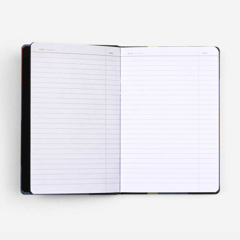 A6 Canvas Notebook - Dune