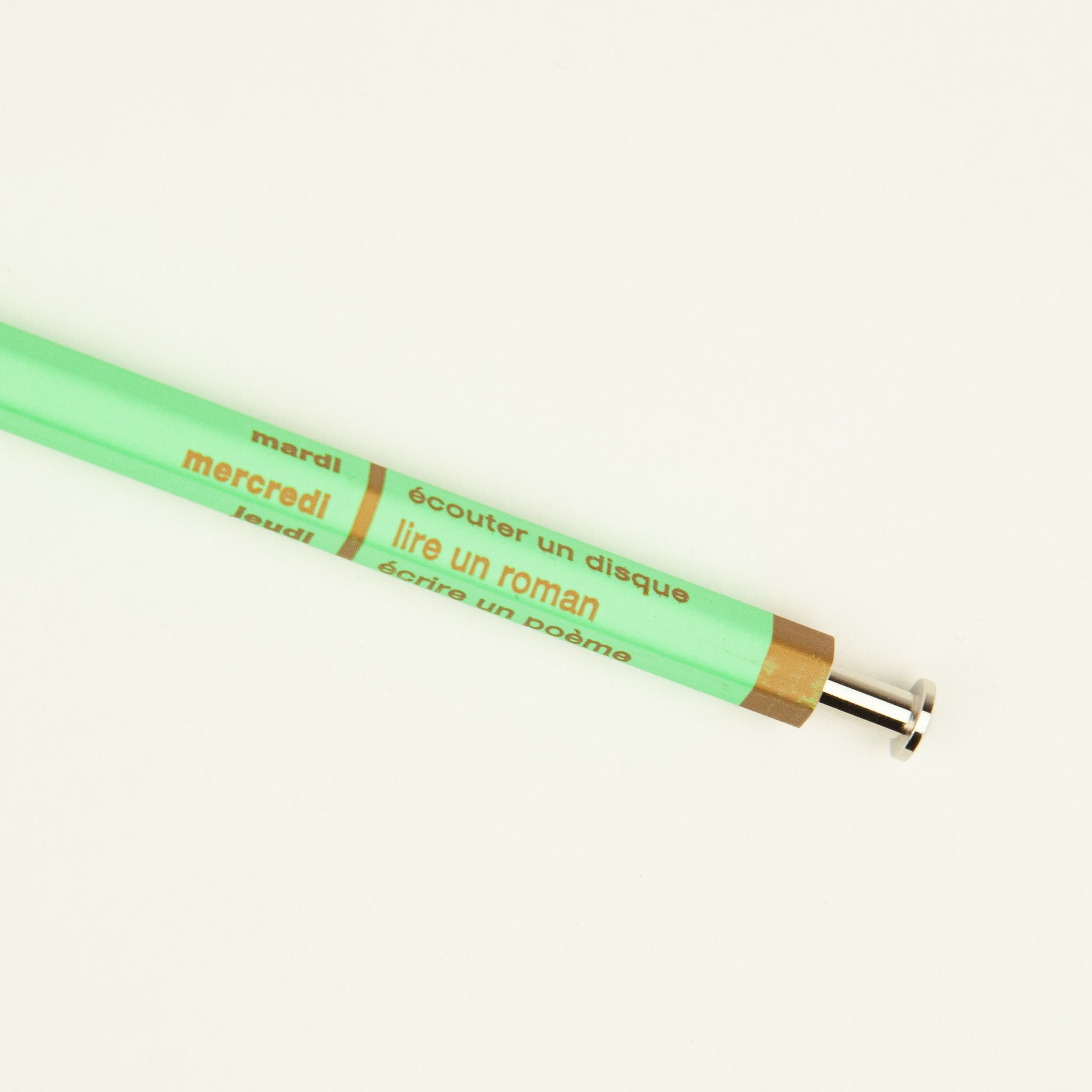 Days Ballpoint Pen - Mint