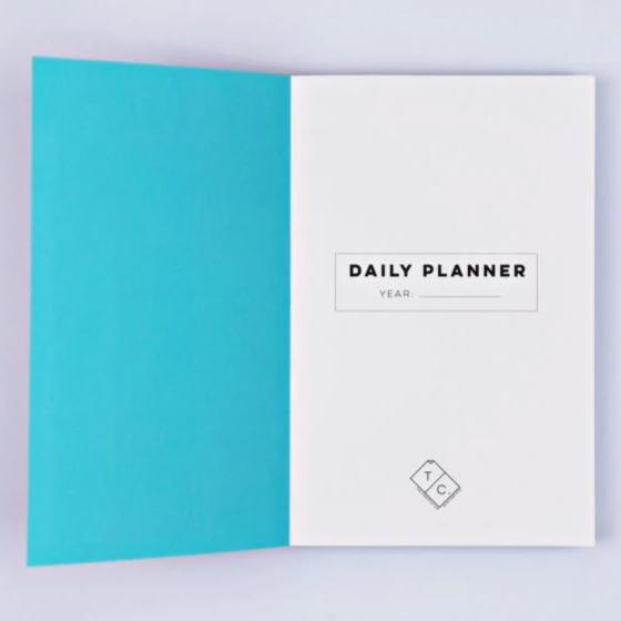 The Daily Planner Undated - Cut Out