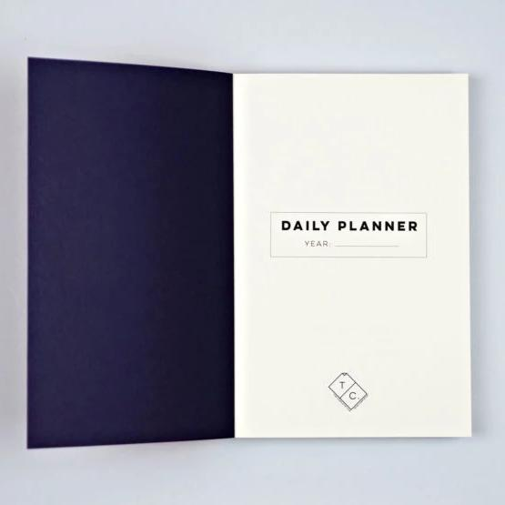 The Daily Planner Undated - Shadow Animal