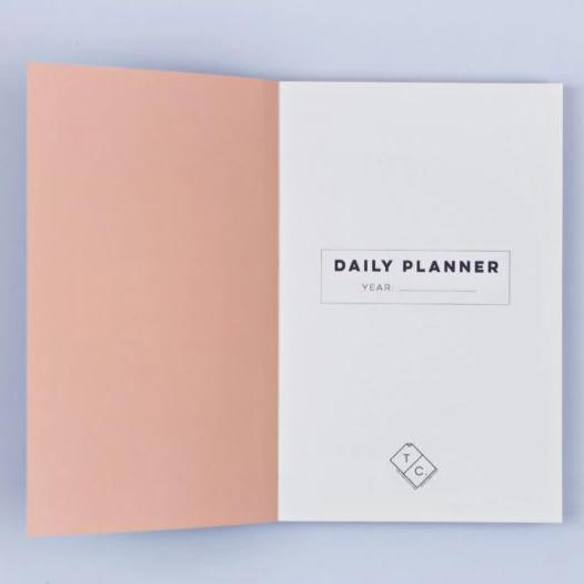 The Daily Planner Undated - Inky