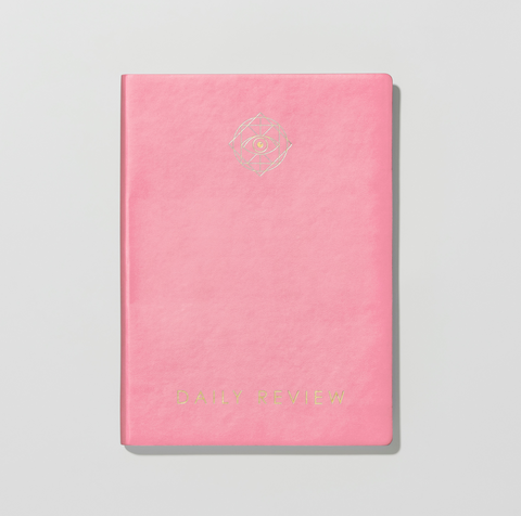Daily Review Planner - Pink