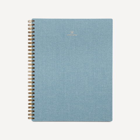 B6 Notebook - Chambray Blue