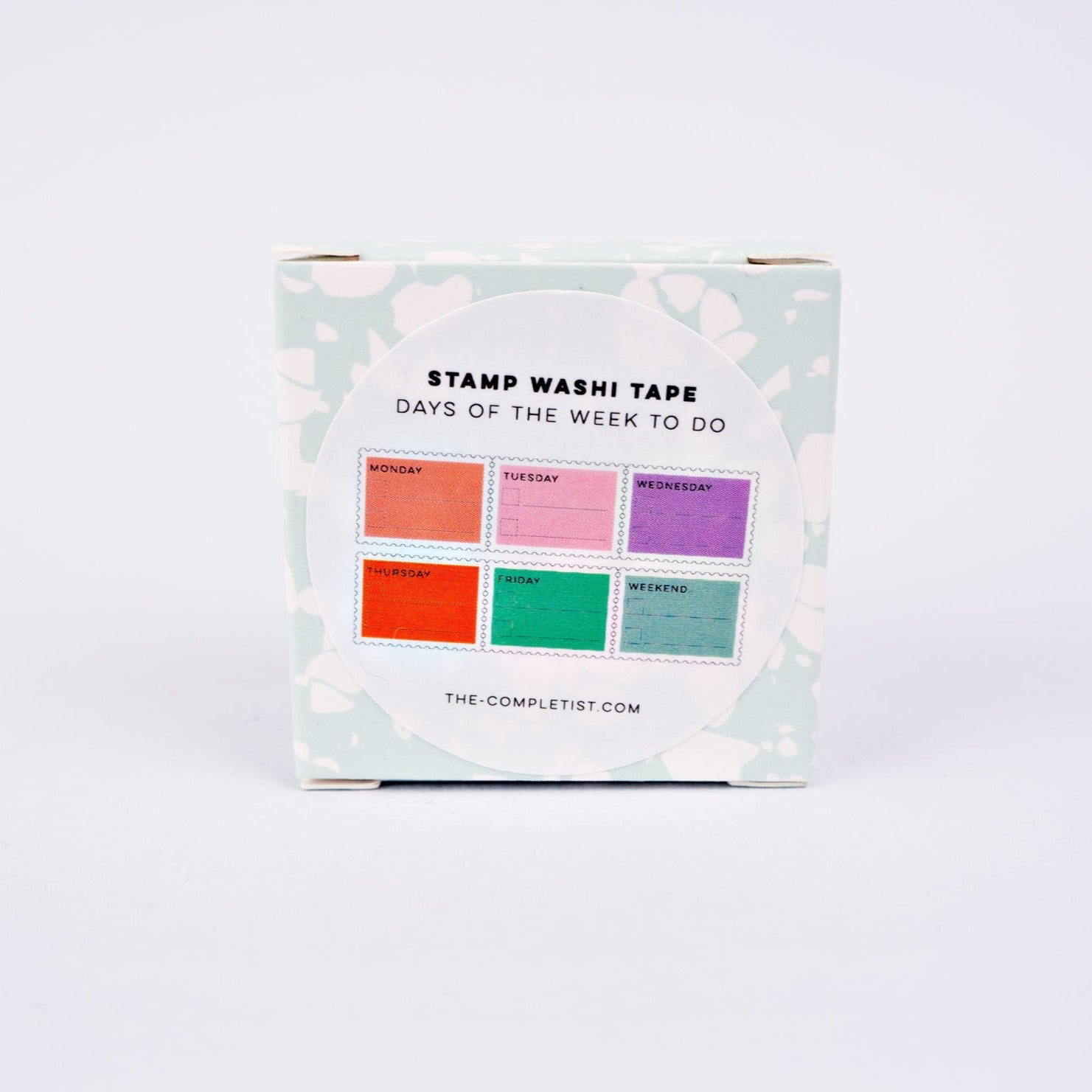 Washi Stamp - Pastel Days To Do