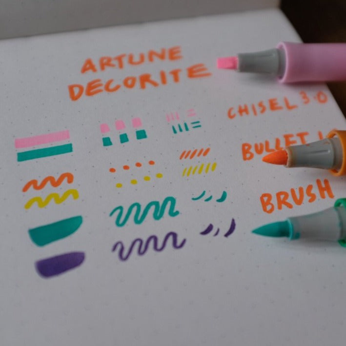 Decorite Chisel Tip Pen