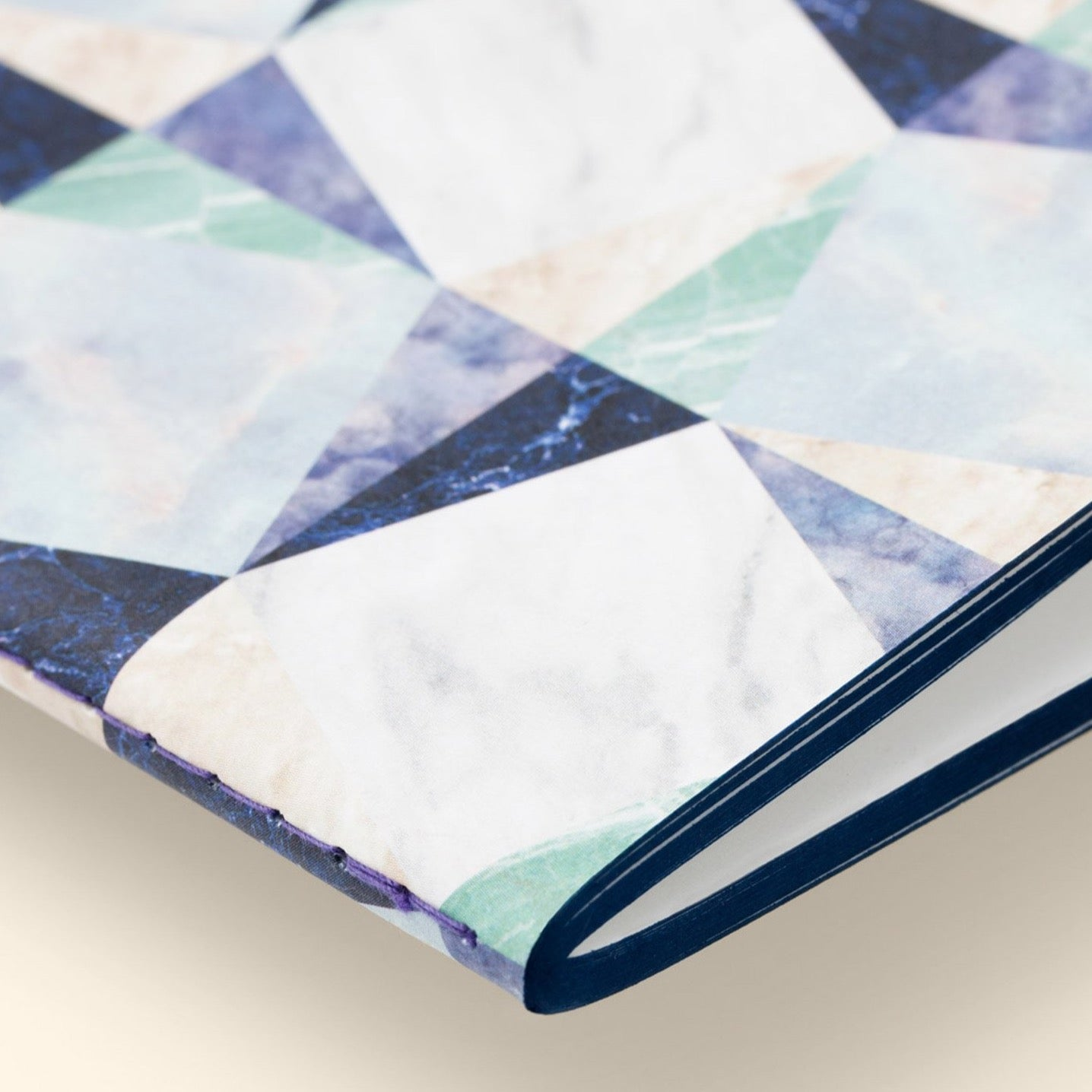 Marble Notebook -Blue