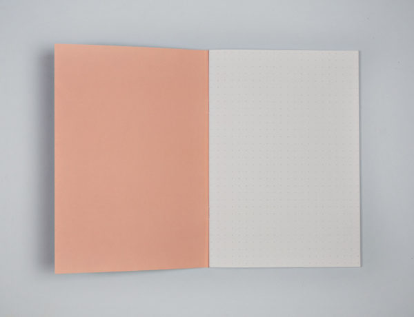 Dot Grid A5 Notebook - Pastel Giant Brush