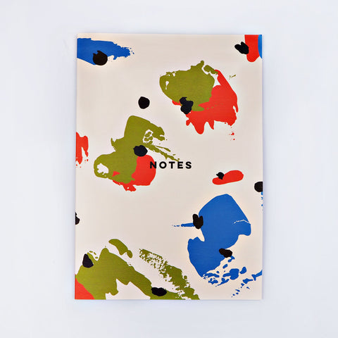 A4 Notebook - Spot Palette
