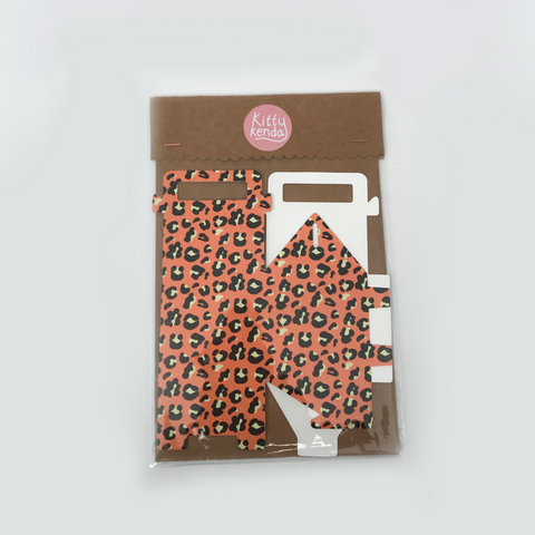 Gift Box - Orange Leopard