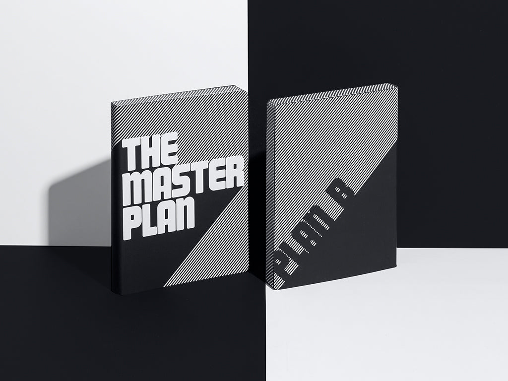 Graphic L Notebook - The Master Plan
