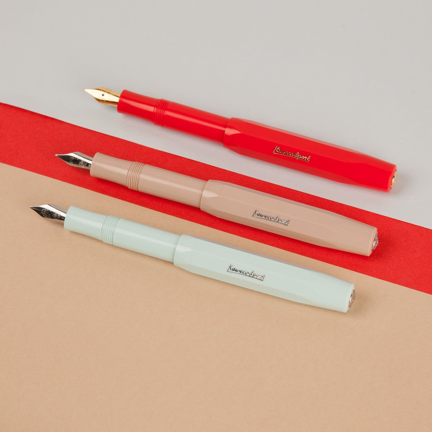 Kaweco Sport Fountain Pen - Red