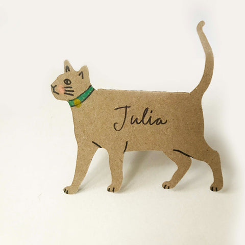 Place Cards - Standing Kitty