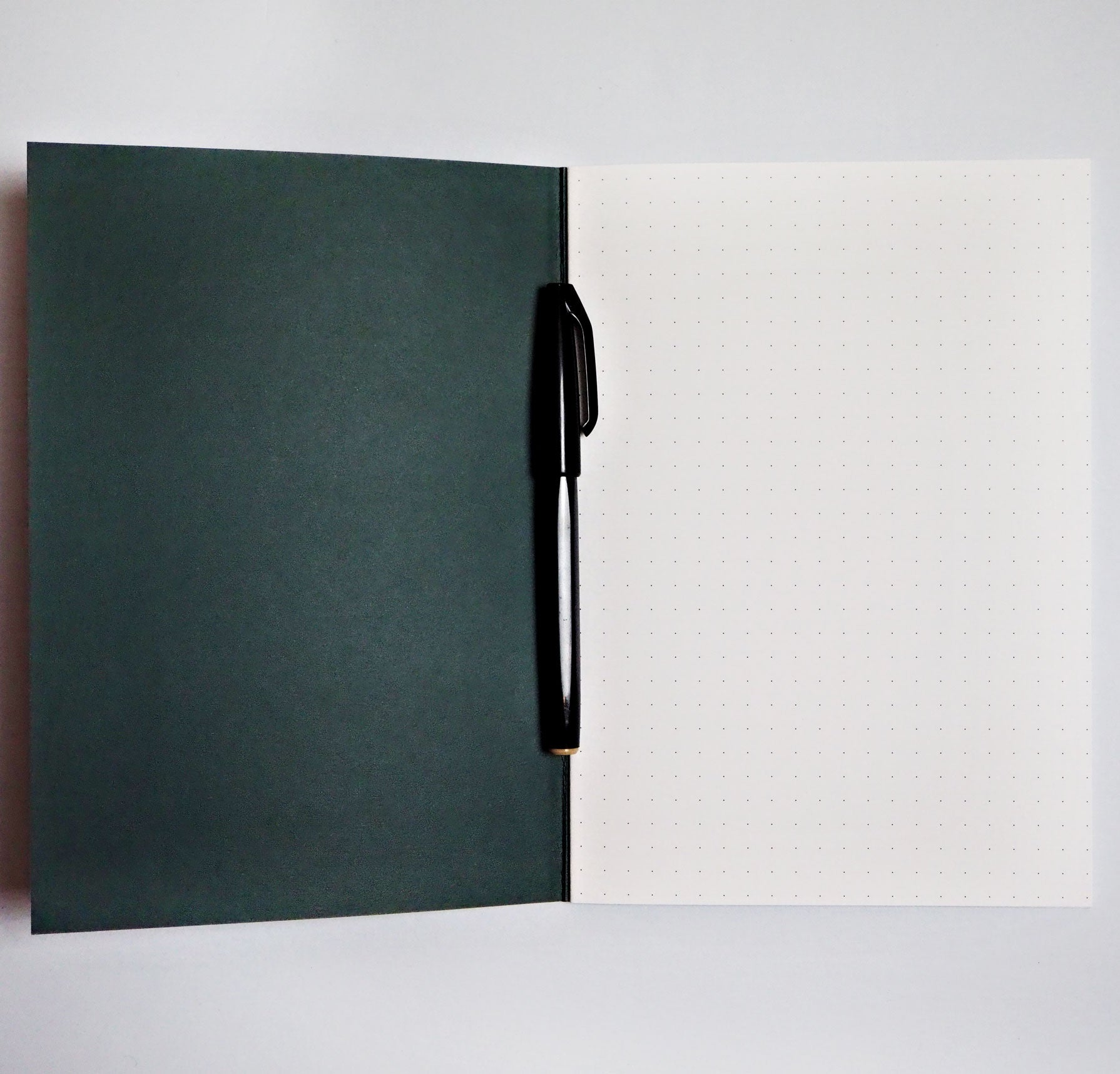 Dot Grid A5 Notebook - Lilac Graphic Shapes