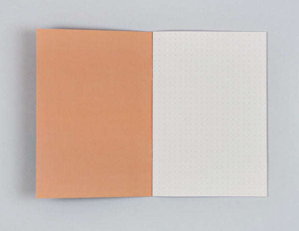 Dot Grid A5 Notebook - Cut Out Shapes