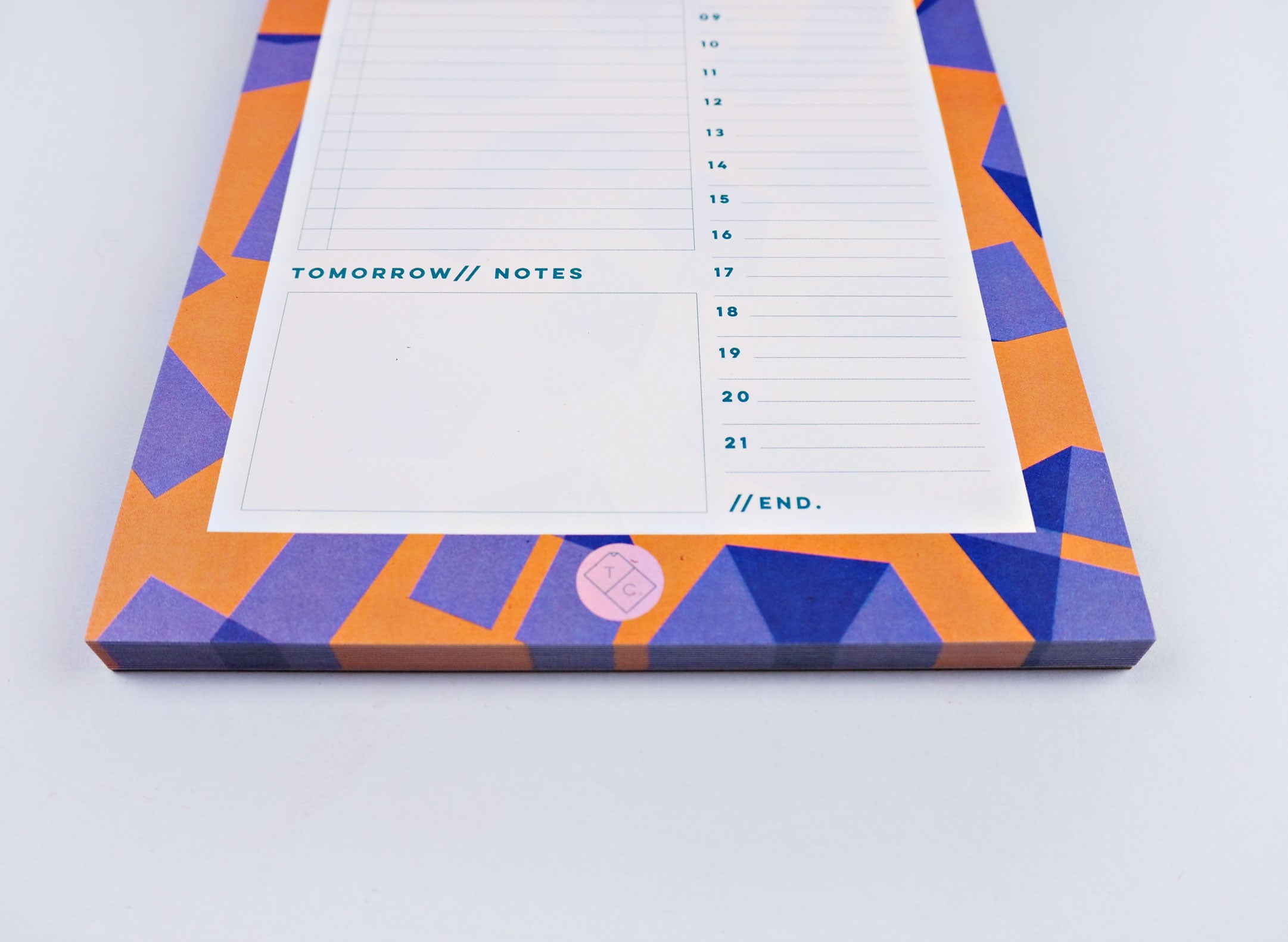 Daily Planner Pad - Origami