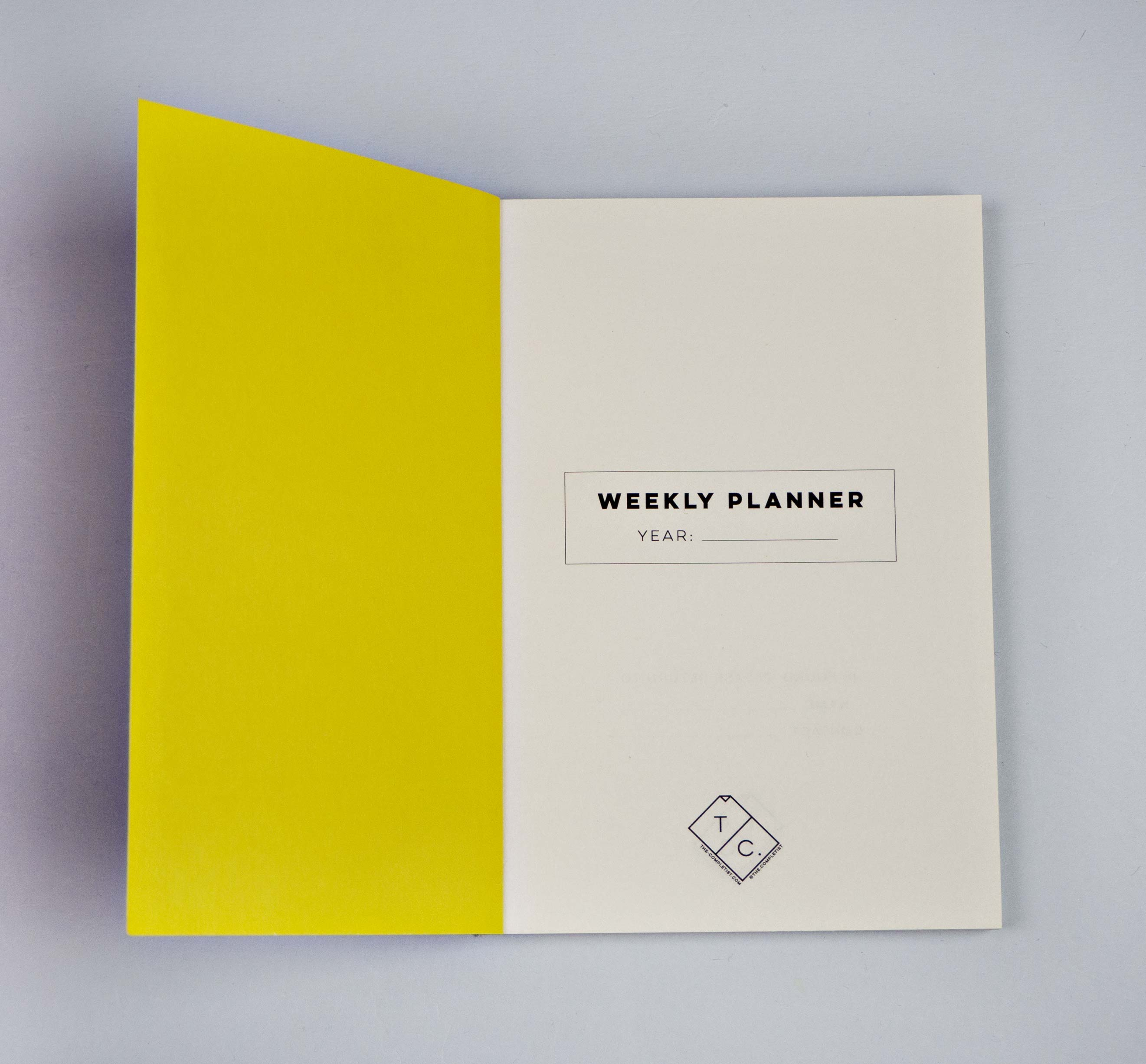 Weekly Pocket Planner - Cut Out No. 3