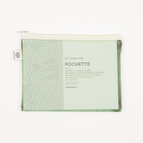 Pochette Mesh Pouch - Green Yellow