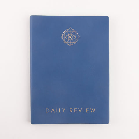 Daily Review Planner - Blue