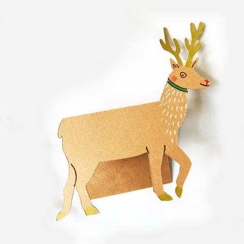 Place Cards - Reindeer