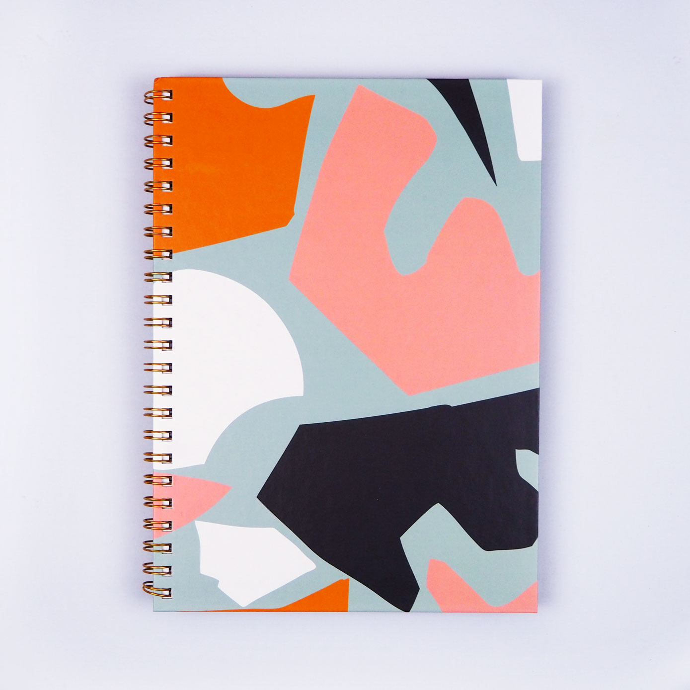 Spiral Sketch Book - Cut Out Shapes