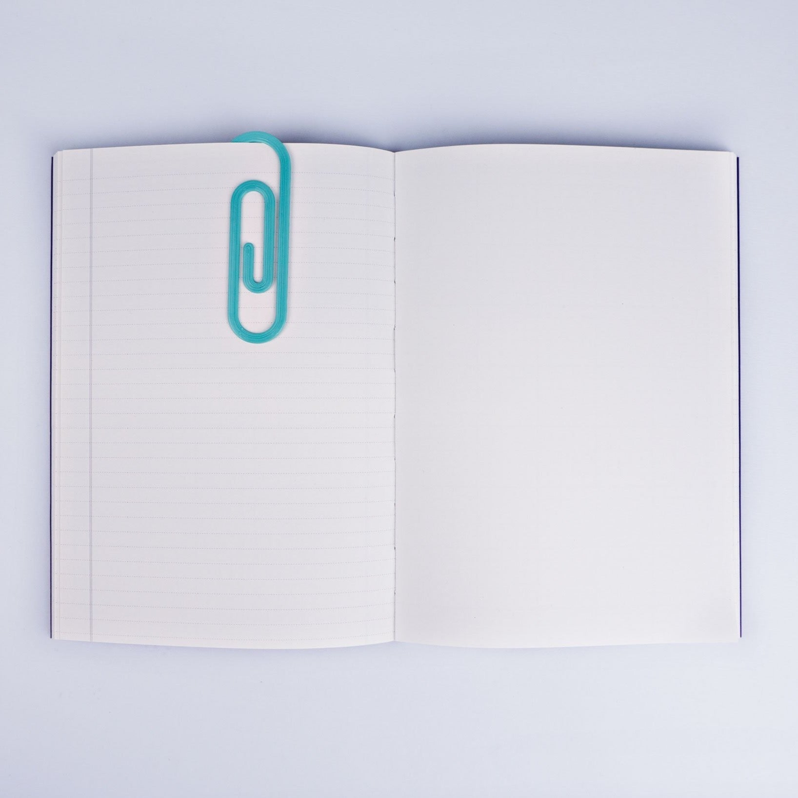 Paperclip Bookmark - Coral