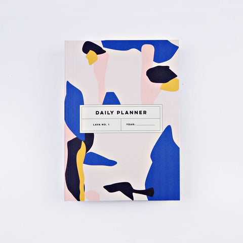 The Daily Undated Planner - Lava No. 1